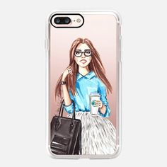 Girl in blue - New Standard iPhone 7 Plus Case   @casetify