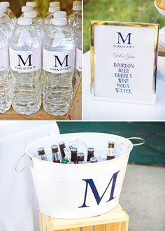 {Bluegrass and Bourbon} Manly 40th Birthday Party // Hostess with the Mostess®