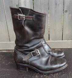 Vintage Chippewa Engineer Boots 1