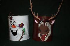 Frozen Olaf & Sven Birthday Centerpiece/ Decoration by tehdesigns, $24.00
