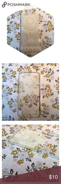 White Lace iPhone 6/6S case. Brand new! White Lace iPhone 6/6S case. Brand new! Accessories Phone Cases