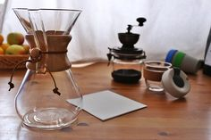 Make :coffee: with #Chemex by #Kavala