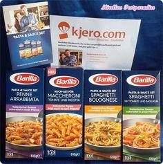 Die neuen Pasta & Saucen Sets von Barilla   Mirellas Testparadies