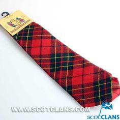Clan Brodie Modern Tartan Wool Tie