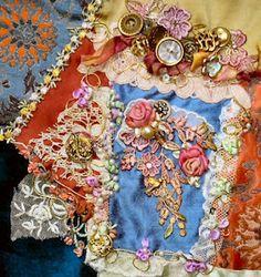 February Gipsy embellishing