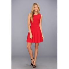 BCBGMAXAZRIA - Gali Sleeveless A-Line Dress (Poppy) - Apparel - product - Product Review