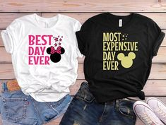 Disney couple shirts Disney matching shirts for your next Disneyland vacation! Disneyland Couples, Disneyland Outfits, Disneyland Shirts, Disney Couples, Disney Outfits, Disneyland Vacation, Disney Clothes, Disneyland Ideas, Disney Fashion