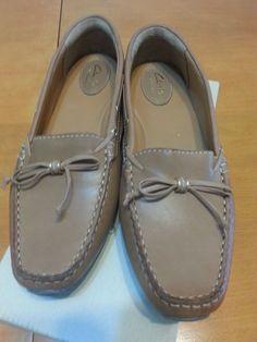 Check out New in Box Clark's Artisan Dunbar Groove leather loafers flats moccasins sz 9.5 #Clarks http://www.ebay.com/itm/-/262563465204?roken=cUgayN&soutkn=aXISzY via @eBay