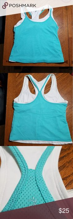 Racer back tank top Form fitting, worn once Activa Tops Tank Tops