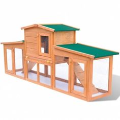 Large Rabbit Hutch Small Animal House Pet Cage with Roofs Wood  Make the Best this Budget Item. At Luxury Home Brands WE always Find Great Stuff for you :)