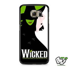 Wicked Broadway Green Samsung Galaxy S6 Case