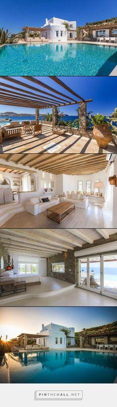 Villa Kymothoe- Mykonos, Greece- WIMCO Villas- 6 bed 5 baths #travel #greece #mykonos #europe #villas #villasrental