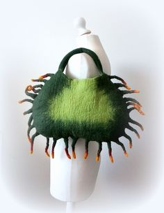 Felted+handbag+CRAB+from+Feltmondo+by+DaWanda.com