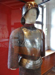 end 15th century - 'breastplate', South German, Burg Wernstein, Oberfranken, Kaiserburg, Nürnberg, Bayern, Germany | by roelipilami