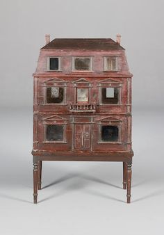 Christian Hacker three-tier dolls house