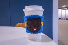 Crochet Sports Team Coffee Cozy Pattern