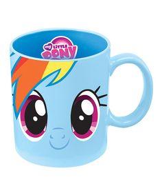 Vandor 42162 My Little Pony Rainbow Dash 12 oz Ceramic Mug, Blue My Lil Pony, My Little Pony Party, Rainbow Dash, Little Poni, Matching Gifts, My Little Pony Friendship, Up Girl, Ceramic Mugs, Cool Things To Buy