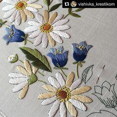 @vishivka_krestikom #ricamo #embroidery #bordado #broderie #handembroidery…