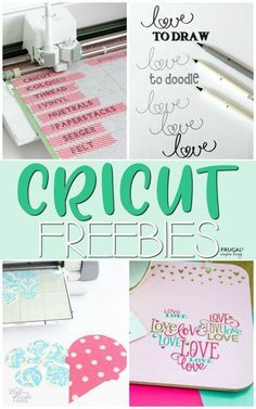 Cricut Freebies