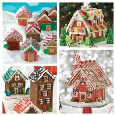 gingerbread houses on pinterest   Gingerbread houses