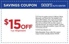 Sears Auto Center Coupon Codes, Promos & Sales