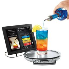 Be it mocktail or cocktail, a classic Margarita, enticing Blue Lagoon or blended Bloody Mary, this world class Perfect Drink App-Controlled Smart Bartending offers 300+ drink recipes and helps you mix classic cocktails at home. Isn't it the most wonderful gizmo ever created by mankind? Good news is - you can buy it online in India at ShopYourWorld.com! :)