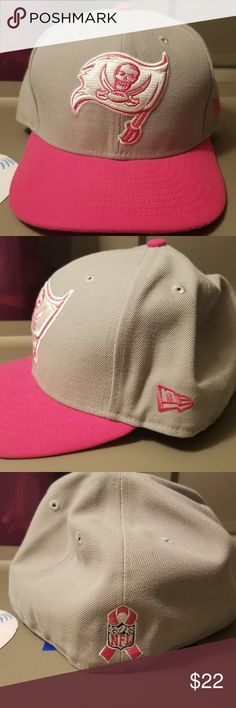 d7ddb0921c9d6 TB Buccaneers BCA New Era 5950 Pink This cap is from the Breast Cancer  Awareness series