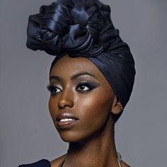 Turbans, African Beauty, Black Is Beautiful, Black Beauty, Woman Face, Dark Skin, Head Wraps, Wrap Style, Veil