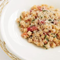 Creamy Pasta with Tomato Confit and Fresh Goat Cheese | Food & Wine