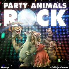 Let's get this party started! Happy #WorldPartyDay from #IceAge #CollisionCourse.