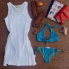 Tanger dress & Algarve bikini. SS15. LIVOB