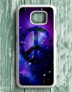 Peace Love Logo Graffity In Galaxy Samsung Galaxy S7 Edge Case