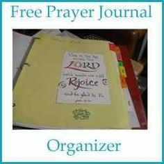 Organize Your Life With A Prayer Journal Organizer