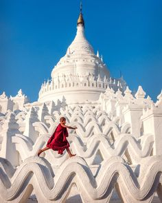 The Hsinbyume Pagoda, Myanmar The Places Youll Go, Places To See, Films Chrétiens, Travel Photographie, Myanmar Travel, Burma Myanmar, Photos, Temples, Paisajes
