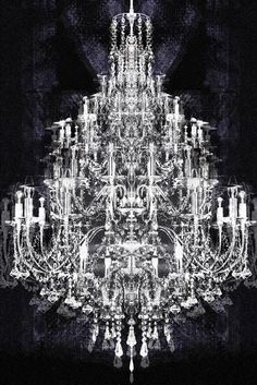 Monte Carlo Canvas Print I'd have that as a real chandelier in my house it's gorgeous
