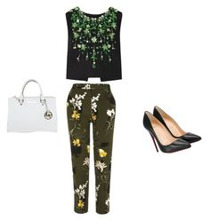 """""""And away we go xx"""" by milliebeth84 on Polyvore featuring River Island, Miu Miu, Christian Louboutin and Michael Kors"""
