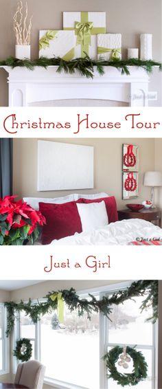 Christmas House Tour | justagirlblog.com