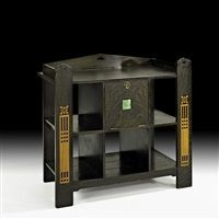 Rare inlaid server by Shop of the Crafters