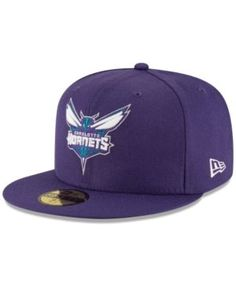 size 40 a3fe1 16af6 New Era Charlotte Hornets Solid Team 59FIFTY Cap   Reviews - Sports Fan  Shop By Lids - Men - Macy s