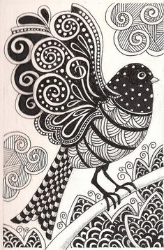 Zentangle Patterns For Beginners - Bing Immagini