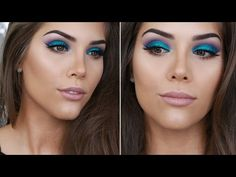 DRAMATIC GLITTER CUT CREASE | New Years Eve Party Makeup Tutorial - YouTube
