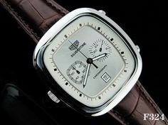 Tag Heuer, Carrera, Swag, Watches, History, Style, Watch, Historia, Stylus