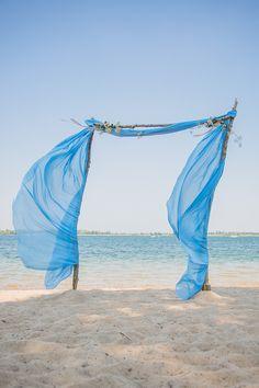 Ideen für eine blaue Hochzeitsdeko | Friedatheres.com
