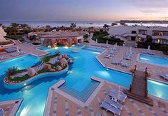 Marriott hotel in Sharm El Sheikh. FACT: The number of resorts in the region increased from three in 1981 to ninety-one in 2000 due to its tourist appeal.