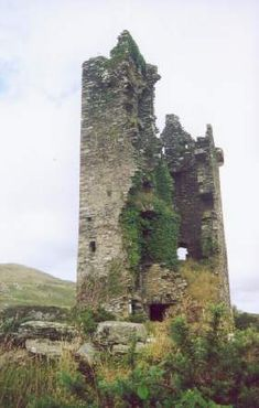 Castle O'Donovan -- built in 1560 by my ancestor, Donal O'Donovan; located 12km east of Bantry (previous pinner)