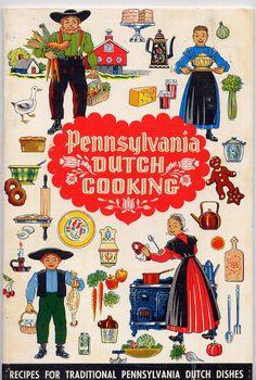 Vintage 1970s Pennsylvania Dutch
