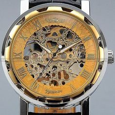 Men's Classic Skeleton Mechanical Wrist Watch https://www.steampunkartifacts.com/collections/steampunk-pocket-watches https://www.steampunkartifacts.com/collections/steampunk-pocket-watches