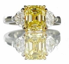 Fancy Yellow aka King of all diamonds