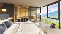 Treetop - My Arbor - Hotel in Südtirol 100 M2, Loft, Hotels, South Tyrol, Outdoor Furniture, Outdoor Decor, Places To Visit, Bed, Home Decor