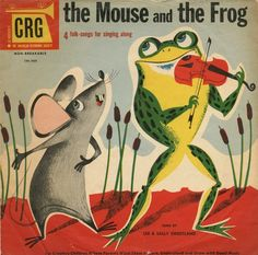 The Mouse and The Frog by Bart&Co. on Flickr.